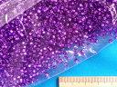 丸大ビーズ(約3mm)紫