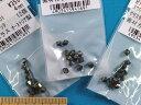 スワロフスキービーズ3パックセット(4mm)クリスタルバック
