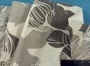 イタリア製プリント不織布白×グレー系