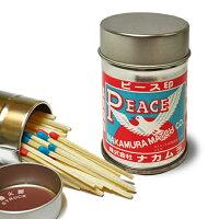 ピース印 アウトドア・スチール缶マッチの画像