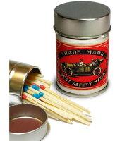 レトロラベル缶マッチ・自動車002の画像
