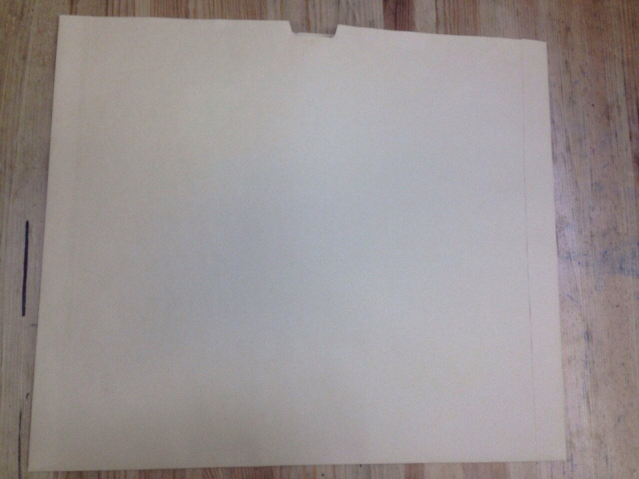 ハート クラフト封筒 レントゲン袋 カマス貼  半切判 クラフト 100g/m2  400枚 jt0127