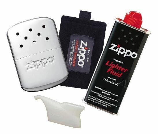 Zippo ハンディウォーマー&オイルセット ZHW-15