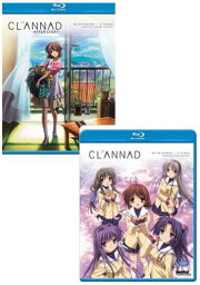 クラナド + クラナド アフターストーリー BD (全49話 1225分収録 北米版) Blu-ray ブルーレイ【輸入品】