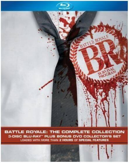 Battle Royale The Complete Collection BD (368分収録 北米版) Blu-ray ブルーレイ【輸入品】