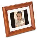 FUJIFILM デジタルフォトフレーム 7インチ 内蔵メモリー512MB 解像度800×600 オーク DP-7V