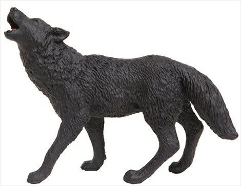 TST safari (サファリ) クロオオカミ 狼 オオカミ フィギュア おもちゃ 181129