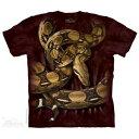 樂天商城 - The Mountain Tシャツ Boa Constrictor Squeeze (ヘビ メンズ 男性用 男女兼用 ) XL-4L 【輸入品】 大きいサイズ 半袖