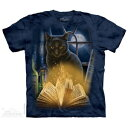 樂天商城 - The Mountain Tシャツ Bewitched ( ファンタジー ネコ 黒猫 メンズ 男性用 男女兼用 ) XL-4L 【輸入品】 大きいサイズ 半袖