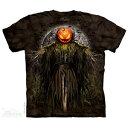 ショッピングkinki kids the red light The Mountain Tシャツ Pumpkin King (ファンタジー カボチャ メンズ 男性用 男女兼用 ) XL-4L 【輸入品】 大きいサイズ 半袖