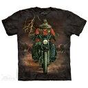 樂天商城 - The Mountain Tシャツ Buffalo Thunder (バイク バッファロー メンズ 男性用 男女兼用 ) XL-4L 【輸入品】 大きいサイズ 半袖