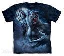 The Mountain Tシャツ Ripped Werewolf (ファンタジー 怪物 ウェアウルフ メンズ 男性用 男女兼用) S-L【輸入品】半袖