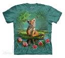 樂天商城 - The Mountain Tシャツ Tiger Lily (トラ 虎 メンズ 男性用 男女兼用) S-L【輸入品】半袖