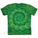 The Mountain Tシャツ Shamrock Spiral ( ファンタジー ユニコーン クローバー メンズ 男性用 男女兼用 ) XL-4L 【輸入品】 大きいサイズ 半袖