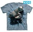 樂天商城 - The Mountain Tシャツ Hammerhead Breakthrough (サメ 鮫 キッズ 子供用)【輸入品】半袖