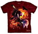 樂天商城 - The Mountain Tシャツ Indian Collage (インディアン 歴史 メンズ 男性用 男女兼用) S-L【輸入品】半袖