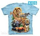 樂天商城 - The Mountain Tシャツ Zoo Collage (動物園 キッズ 子供用)【輸入品】半袖