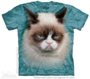 The Mountain Tシャツ Grumpy Cat Grumpy Cat (グランピー・キャット ネコ メンズ 男性用 男女兼用) S-L【輸入品】半袖