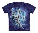 樂天商城 - The Mountain Tシャツ Find 10 Wolves (オオカミ キッズ 子供用)【輸入品】半袖