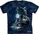 樂天商城 - The Mountain Tシャツ Bark at the Moon ( オオカミ メンズ レディース 男女兼用 ) S-L 【輸入品】 半袖 アニマル マウンテン 動物