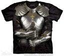 楽天なかのふぁくとりー 楽天市場店The Mountain Tシャツ Body Armor (ナイト 鎧 メンズ 男性用 男女兼用 ) XL-4L 【輸入品】 大きいサイズ 半袖
