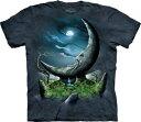 The Mountain Tシャツ Moonstone (宇宙 月 メンズ 男性用 男女兼用 ) XL-4L 【輸入品】 大きいサイズ 半袖