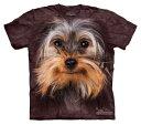 樂天商城 - The Mountain Tシャツ Yorkshire Terrier Face (イヌ 犬 テリア メンズ 男性用 男女兼用) S-L【輸入品】半袖