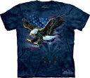 樂天商城 - The Mountain Tシャツ Declaration ( アメリカ ワシ イーグル メンズ 男性用 男女兼用 ) XL-4L 【輸入品】 大きいサイズ 半袖