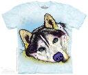 樂天商城 - The Mountain Tシャツ Russo Siberian Husky Kids T-Shirt ドッグ 犬 (キッズ 子供用 女児 男児) S-2L【輸入品】半袖 マウンテン