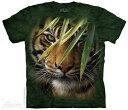 樂天商城 - The Mountain Tシャツ Emerald Forest Kids T-Shirt タイガー 虎 (キッズ 子供用 女児 男児) S-2L【輸入品】半袖 マウンテン 動物