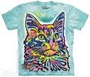 樂天商城 - The Mountain Tシャツ Angora T-Shirt キャット 猫 (メンズ 男性用 男女兼用) S-2L【輸入品】半袖 マウンテン 動物 アニマル