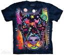 ショッピングいす The Mountain Tシャツ Russo Doberman T-Shirt ドッグ 犬 (メンズ 男性用 男女兼用) S-2L【輸入品】半袖 マウンテン 動物 アニマル