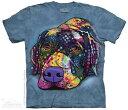 樂天商城 - The Mountain Tシャツ Savvy Labrador T-Shirt ドッグ 犬 (メンズ 男性用 男女兼用) S-2L【輸入品】半袖 マウンテン 動物 アニマル