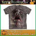The Mountain Tシャツ Zombie Face (ホラー ゾンビ メンズ 男性用 男女兼用 ) XL-4L 【輸入品】 大きいサイズ 半袖