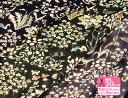 【LIBERTY・リバティプリント】国産ベンベルグ裏地(キュプラ)Yoshie(ヨシエ)3630278【生地・布】
