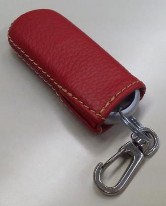 インテリジェントキーケースマツダ用 窓ナシ赤色