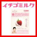 ※12個までゆうパケット送料180円※ 『エッセンス マスク ミルク シリーズ いちごミルク ( Strawberry Milk ) 【1枚入】 ( Essence Mask Milk Series ) 【Pure Smile (ピュア スマイル)】』