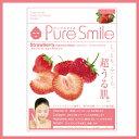 ※12個までゆうパケット送料180円※ 『エッセンス マスク 化粧水 タイプ ストロベリー ( Strawberry ) 【1枚入】 ( Essence Mask Series for lotion type ) 【Pure Smile (ピュア スマイル)】』