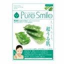 ※12個までゆうパケット送料200円※ 『エッセンス マスク 化粧水 タイプ アロエ ( Aloe ) 【1枚入】 ( Essence Mask Series for lotion type ) 【Pure Smile (ピュア スマイル)】』