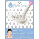 ※12個までゆうパケット送料180円※ 『エッセンス マスク 乳液 タイプ ミルク ( Milk ) 【1枚入】 ( Essence Mask Series for milky lotion ) 【Pure Smile (ピュア スマイル)】』