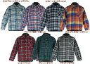 【Blue Mart/110-160】長袖チェックシャツ(7色)