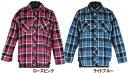 【MATERIAL BLUE dis/130-160】長袖マルチチェックシャツ(2色)