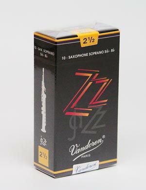 ソプラノサックスリードバンドレン(バンドーレン)ZZVandoren[ZZ]Jazz追跡メール便2箱