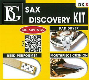 BGサクソフォンディスカバリーキットDKSパッドドライ&MPクッション&リードパフォーマー