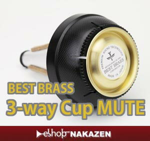 ������̵����BESTBRASS�ʥ٥��ȥ֥饹�˥ȥ��ڥå�Three-wayMute���Ĥǣ��򣳥������ߥ塼��