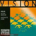 楽天e-shopNAKAZEN中善楽器【送料無料】で断然お得!Thomastik (トマスティーク) VISION TITANIUM SOLO (チタニウム ソロ) バイオリン弦 4/4用セット