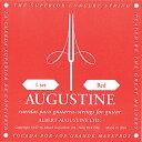 オーガスチン(AUGUSTINE)クラシックギター弦 赤(RED) 4弦 【メール便・定形外郵便OK】