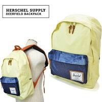 HerschelSupply(�ϡ������륵�ץ饤)DeerfieldBackPack���å��Хå��ѥå��Хå�BADHILLSWORKSHOPCOLLECTION�ڤ������б��ۡ�10P04Jul15�ۡ�RCP��