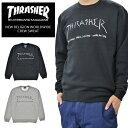 THRASHER (スラッシャー) トレーナー NEW RELIGION WORLDWIDE CREW SWEAT クルーネック スウェット フリース ブラック グレー メンズ M-XL TH94150