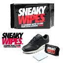 SNEAKY (スニーキー) WIPES ワイプス ペーパークリーナー クリーニングワイプ スニーカークリーナー 汚れ落とし スニーカーケア シューズケア シューケア 12枚入り